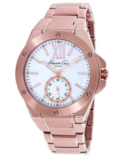 Womens Kenneth Cole Dress Sport Rose gold plated kc10020842 Watch