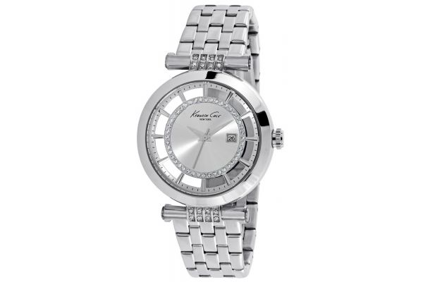 Womens Kenneth Cole Transparent Watch kc10021103