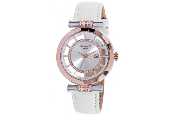 Womens Kenneth Cole Transparent Watch kc10021107
