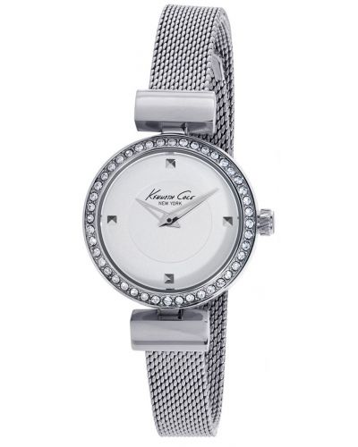 Womens Kenneth Cole Classic Stainless steel crystal set Milanese strap kc10022303 Watch