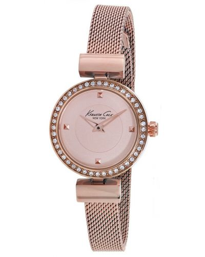 Womens Kenneth Cole Classic Rose gold milanese strap kc10022304 Watch