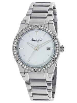 Womens Kenneth Cole Classic Crystal set stainless steel kc10022787 Watch