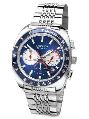 Mens Sekonda stainless steel chronograph 3508.00 Watch