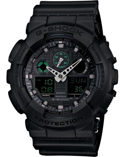 Mens Casio G Shock Matt black GA-100MB-1AER Watch