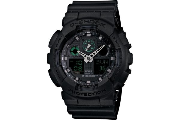 Mens Casio G Shock Watch GA-100MB-1AER