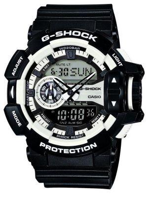 Casio G Shock White and black GA-400-1AER Watch