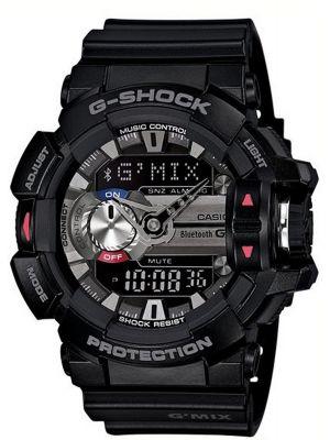 Casio G Shock Black bluetooth GBA-400-1AER Watch