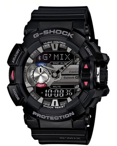 Mens Casio G Shock Black bluetooth GBA-400-1AER Watch