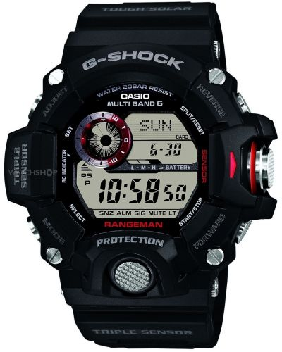 Mens Casio G Shock Black Rangeman Digital GW-9400-1ER Watch