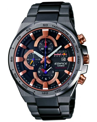 Mens Casio Edifice Red Bull steel chronograph EFR-541SBRB-1AER Watch
