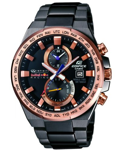 Mens Casio Edifice rose gold red bull chronograph EFR-542RBM-1AER Watch