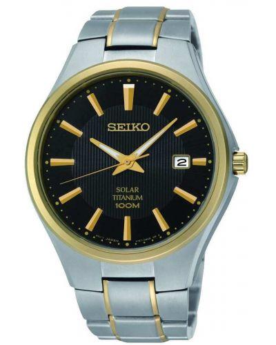 Mens Seiko Solar Titanium SNE382P9 Watch