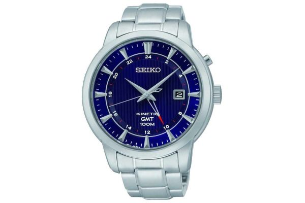 Mens Seiko Kinetic Watch SUN031P1