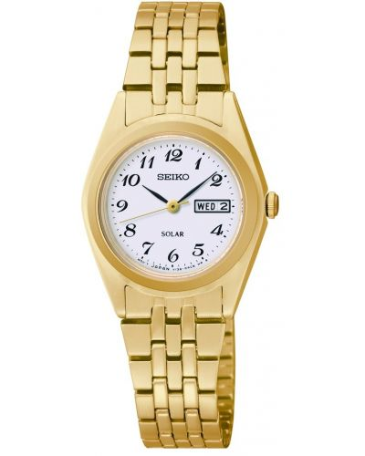 Womens Seiko Solar Gold SUT118P9 Watch
