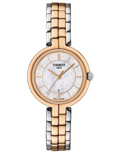 Womens Tissot Flamingo Two tone rose T094.210.22.111.00 Watch