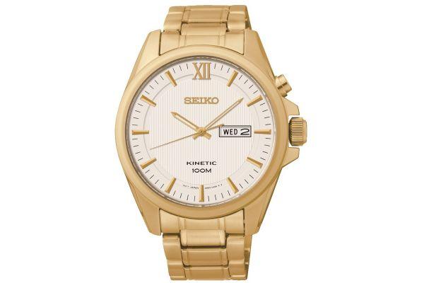 Mens Seiko Kinetic Watch smy158p1