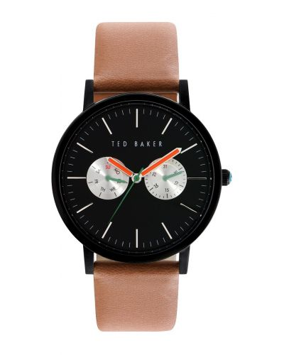 Mens Ted Baker Matt brown leather strap te10024530 Watch