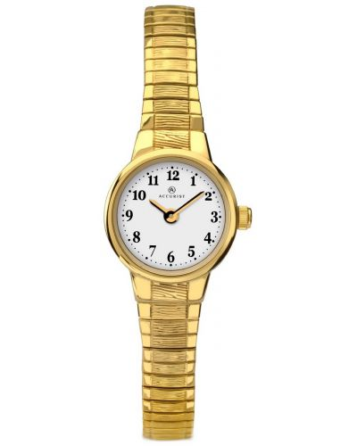 Womens Accurist Classic Gold plated expander 8050.00 Watch