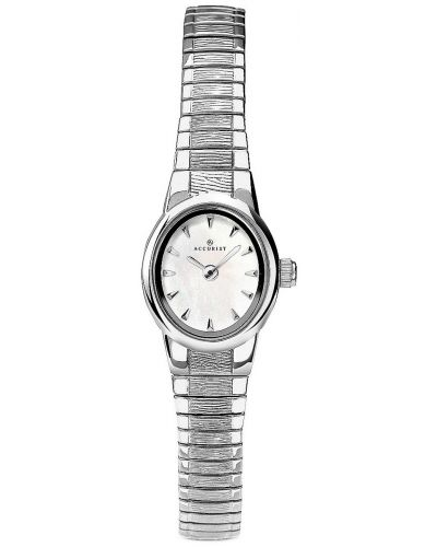 Womens Accurist Classic Stainless steel mother of pearl 8051.00 Watch