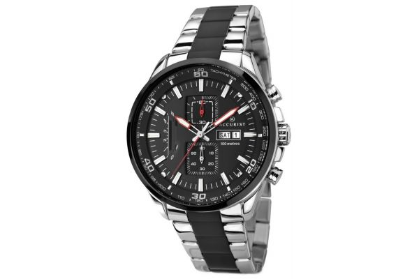 Mens Accurist Chronograph Watch 7006.00