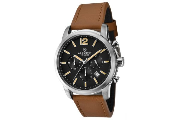 Mens Accurist Chronograph Watch 7020.00