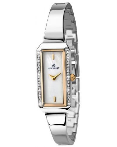 Womens Accurist Dress Silver and gold 8025.00 Watch