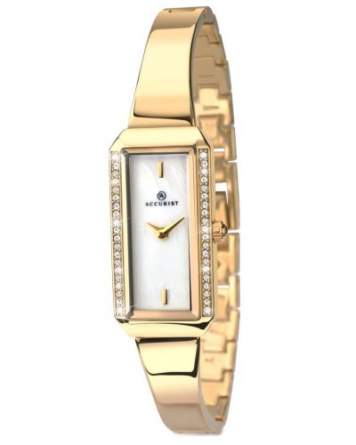Womens Accurist Dress crystal set gold 8026.00 Watch