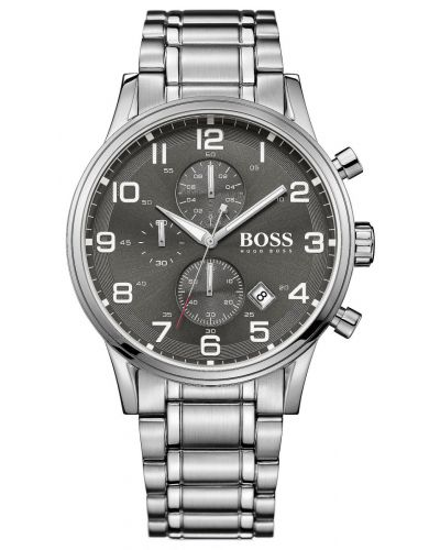 Mens Hugo Boss Aeroliner Stainless steel chronograph 1513181 Watch