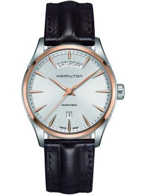 Mens Hamilton American Classic Jazzmaster Day & Date Two Tone Strap H42525551 Watch