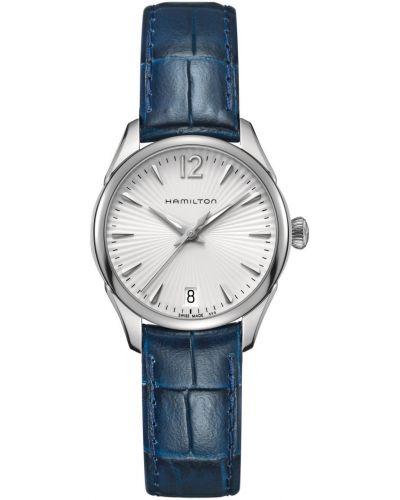 Womens Hamilton American Classic Jazzmaster Lady Quartz Blue Strap H42211655 Watch