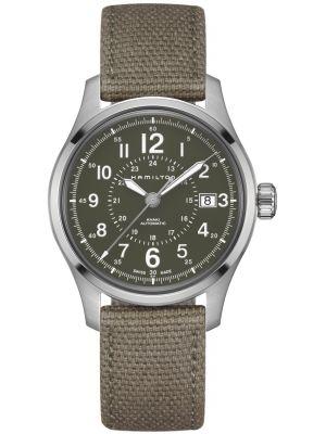 Mens Hamilton Khaki Field automatic stainless steel h70595963 Watch