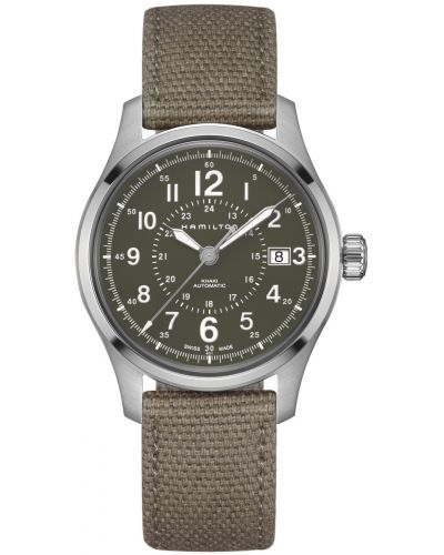 Mens Hamilton Khaki Field automatic stainless steel h70595963 Watch