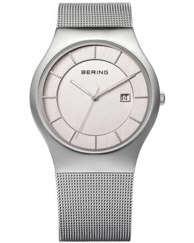 Mens Bering Classic Stainless steel milanese strap 11938-000 Watch