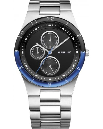 Mens Bering Ceramic stainless steel blue and black classic 32339-702 Watch