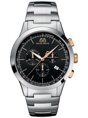 88 Rue Du Rhone 42mm Quartz Chronograph classic 87WA154303 Watch