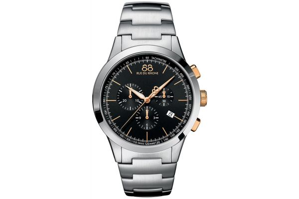 Mens 88 Rue Du Rhone 42mm Quartz Chronograph Watch 87WA154303