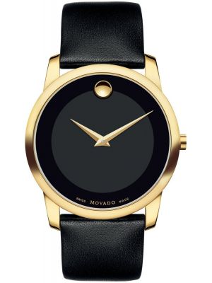 Mens Movado Museum swiss quartz 606876 Watch