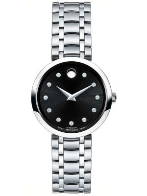 Womens Movado 1881 Automatic diamond set 606919 Watch