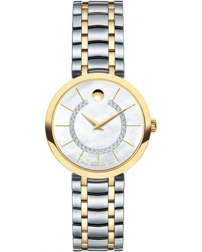 Womens Movado 1881 Automatic diamond set 606921 Watch
