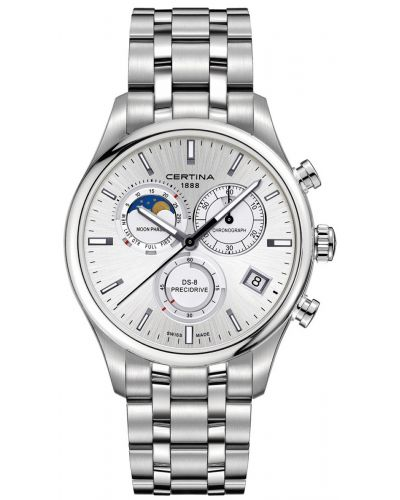 Mens Certina DS-8 Chrono Moon Phase C0334501103100 Watch