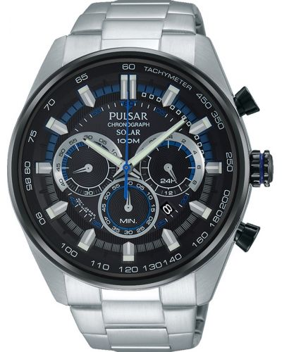 Mens Pulsar  Sports Stainless steel chronograph px5019x1 Watch