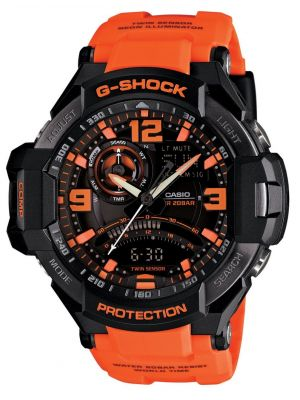 Mens Casio G Shock quartz shock resistant GA-1000-4AER Watch