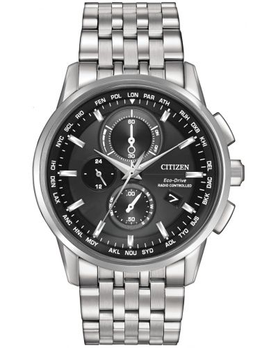 Mens Citizen World Time A-T stainless steel AT8110-53E Watch