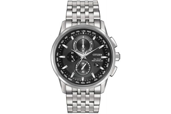 Mens Citizen World Time A-T Watch AT8110-53E