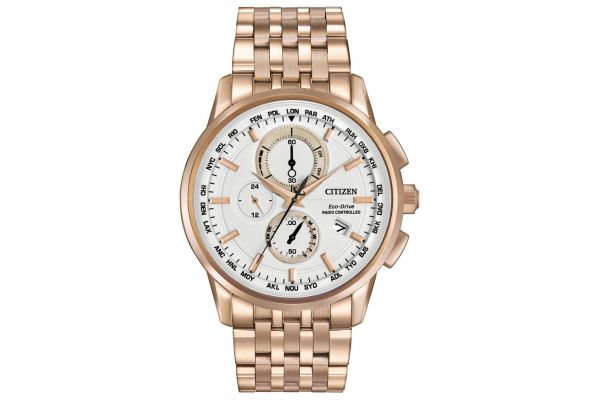 Mens Citizen World Time A-T Watch AT8113-55A