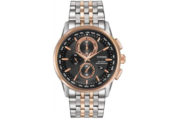 Mens Citizen World Time A-T Watch AT8116-57E