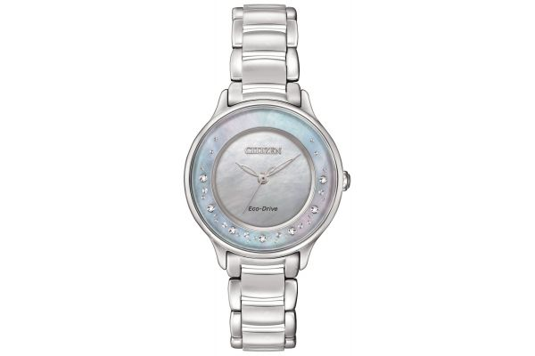 Womens Citizen Circle Of Time Watch EM0380-81N