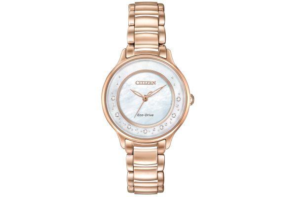 Womens Citizen Circle Of Time Watch EM0382-86D