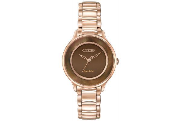 Womens Citizen Circle Of Time Watch EM0382-86X
