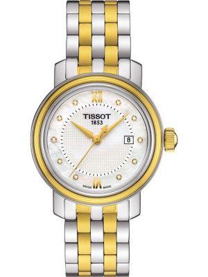 Womens Tissot Bridgeport mother of pearl T097.010.22.116.00 Watch